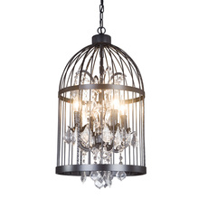 Factory Direct Export Loft American Iron Birdcage Pendant Chandelier