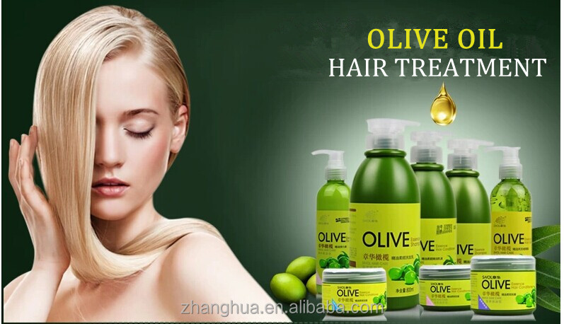 Hot sale olive oil care hair treatment