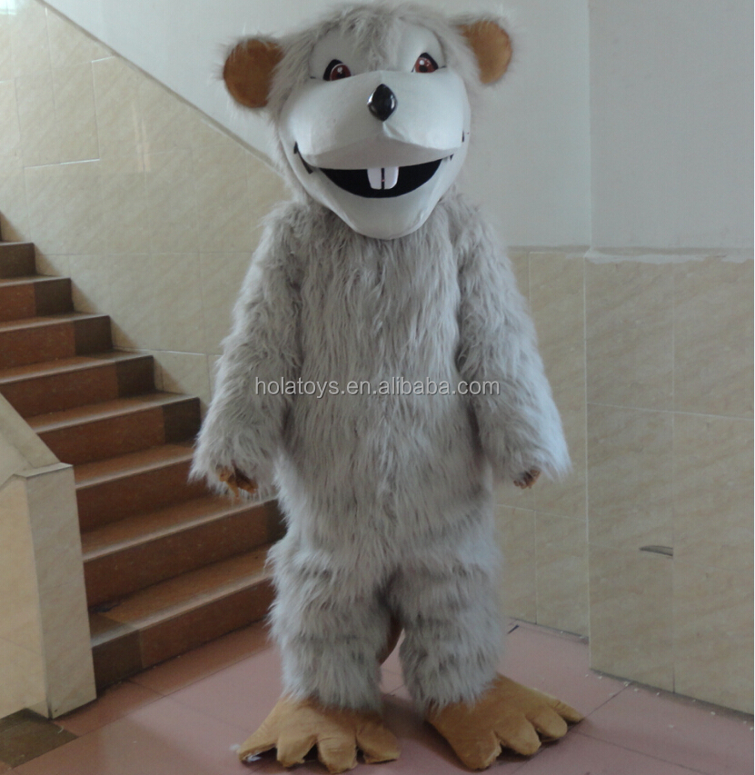 Hola TV cartoon mouse mascot costume/animal mascot costume