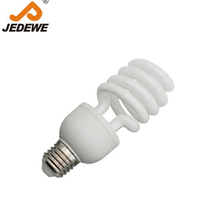 2015 Hot sale half spiral energy save lamp /energy saving bulb/Compact Fluorescent Lamp