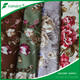 65 Factory Supply 100% polyester 300gsm Middle East floral printed velvet fabric for furniture
