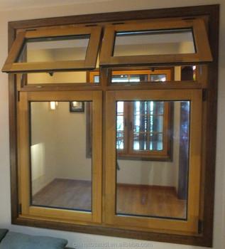 Latest low e wooden window design teak wood window design for New wood window design