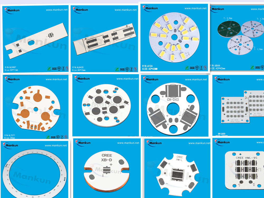 94-vo Round Pcb Board With Cree-xr 6-led Circuit Board Aluminium ...