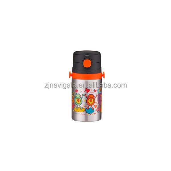 Printing Logo Optional Childrens Stainless Steel Water Bottle