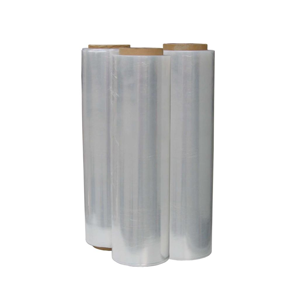 Clear Hand Plastic Verpakt Roll Lamineren PE Stretch Film