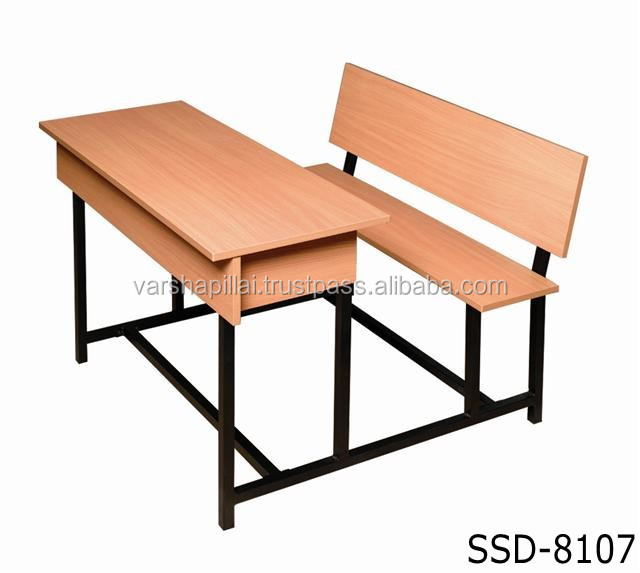 Modern School Furniture New Design Modern School Furniture  Double School Desk And Chair .