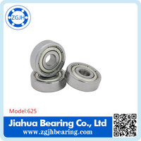 ball bearing 625ZZ RS open Miniature deep groove ball bearing