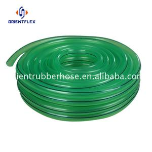 Soft heat proof water conveying clear plastic pipe for sale