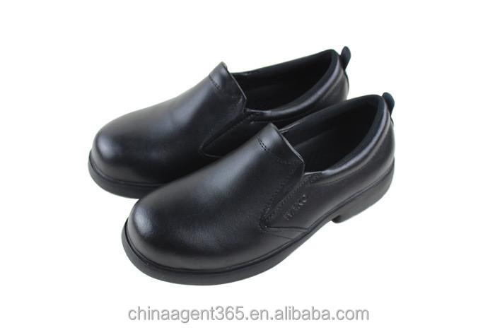 Anti slip scarpe da cucina uomini del cuoio genuino scarpe