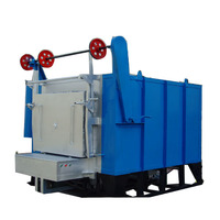 electric trolley heat treatment furnace 1200 degree industrial heating furnace