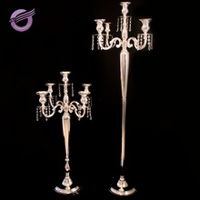 ZT00540 2017 tall metal candle holder for wedding centerpieces hotel decoration