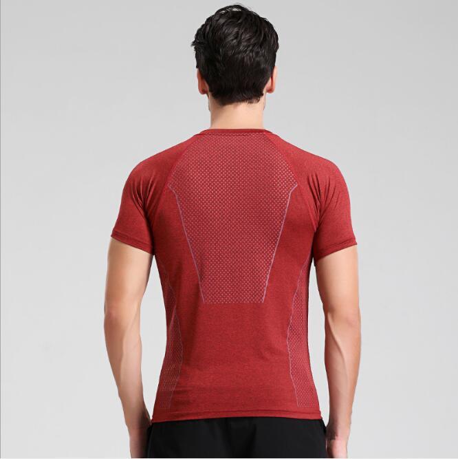 2017 Instyles Super Soft Men O-Neck Sports Gym Blank Compression Shirts 11