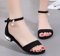 Latest style ladies summer shoes design wholesale girls fashion new sandals