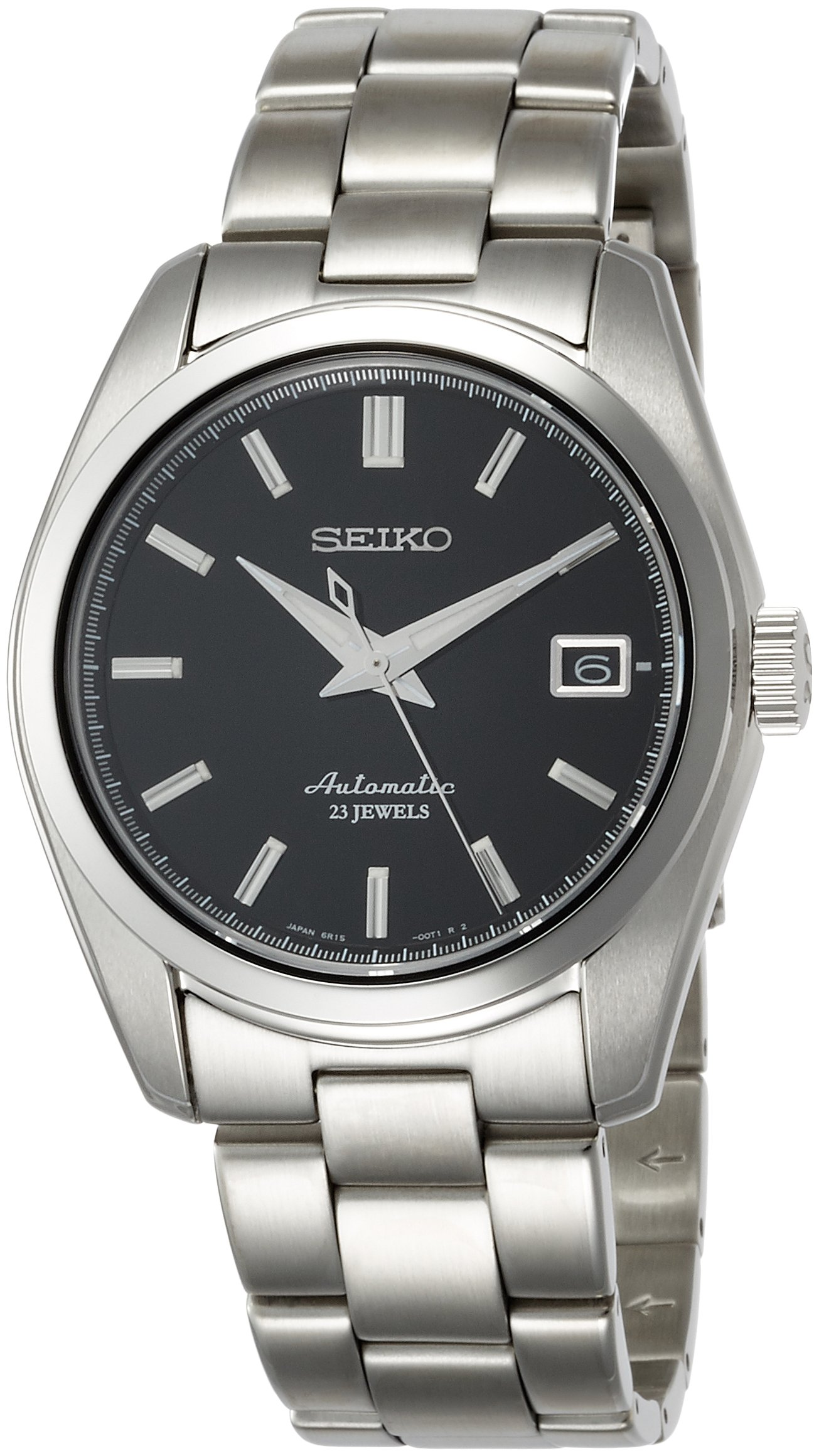 Seiko Men's ' Japanese Automatic Stainless Steel Casual Watch, Color:Silver-Toned (Model: SARB033)