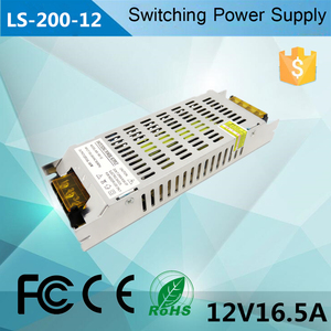 200W constant voltage 12V led power supply 12v 16.5A 200Wswitch power supply