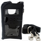 Leather Pouch Soft Case For Handheld Two Way Radio