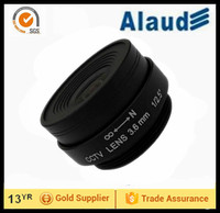 "Fixed iris manual focus 3.6mm 5 megapixel 1/2.5"" cctv wide view angle lens"