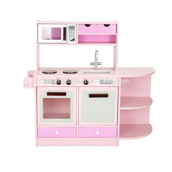 Big Kitchen Kids Wooden Kitchen Play Set Toy - Buy Wooden Kitchen  Toy,Kitchen Set Toy,Kitchen Play Set Product on Alibaba.com