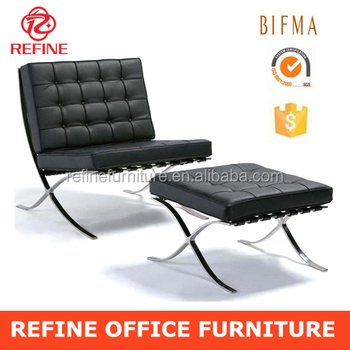 Superbe Replica Barcelona Chair In Cowhide RF S201