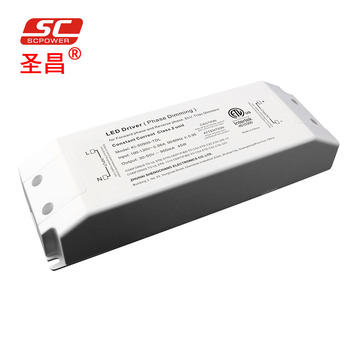 SC Power ETL cETL 45W 1050ma Phase cut /Triac dimmable constant current driver led power supply