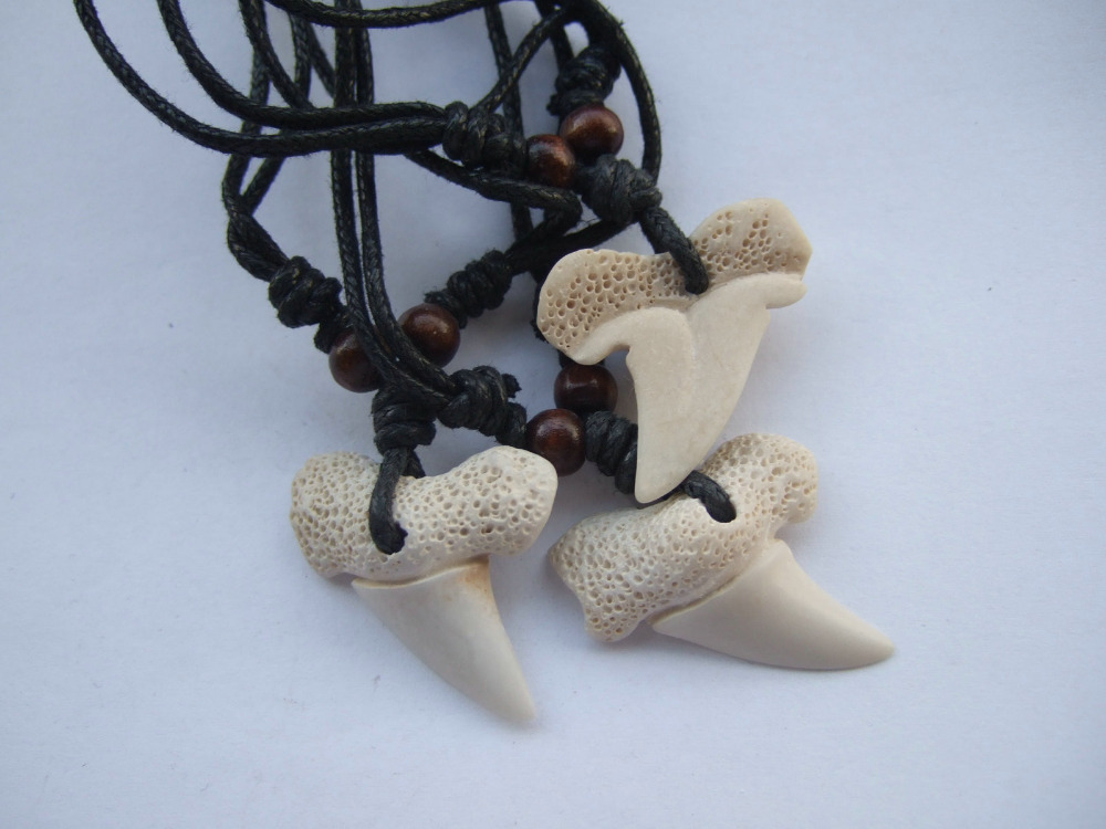 Online Buy Wholesale shark tooth pendant from China shark