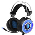 Original SADES A9 Stereo Surround Gaming Headset Headband Headphones with Super Mic with Glowing LED light