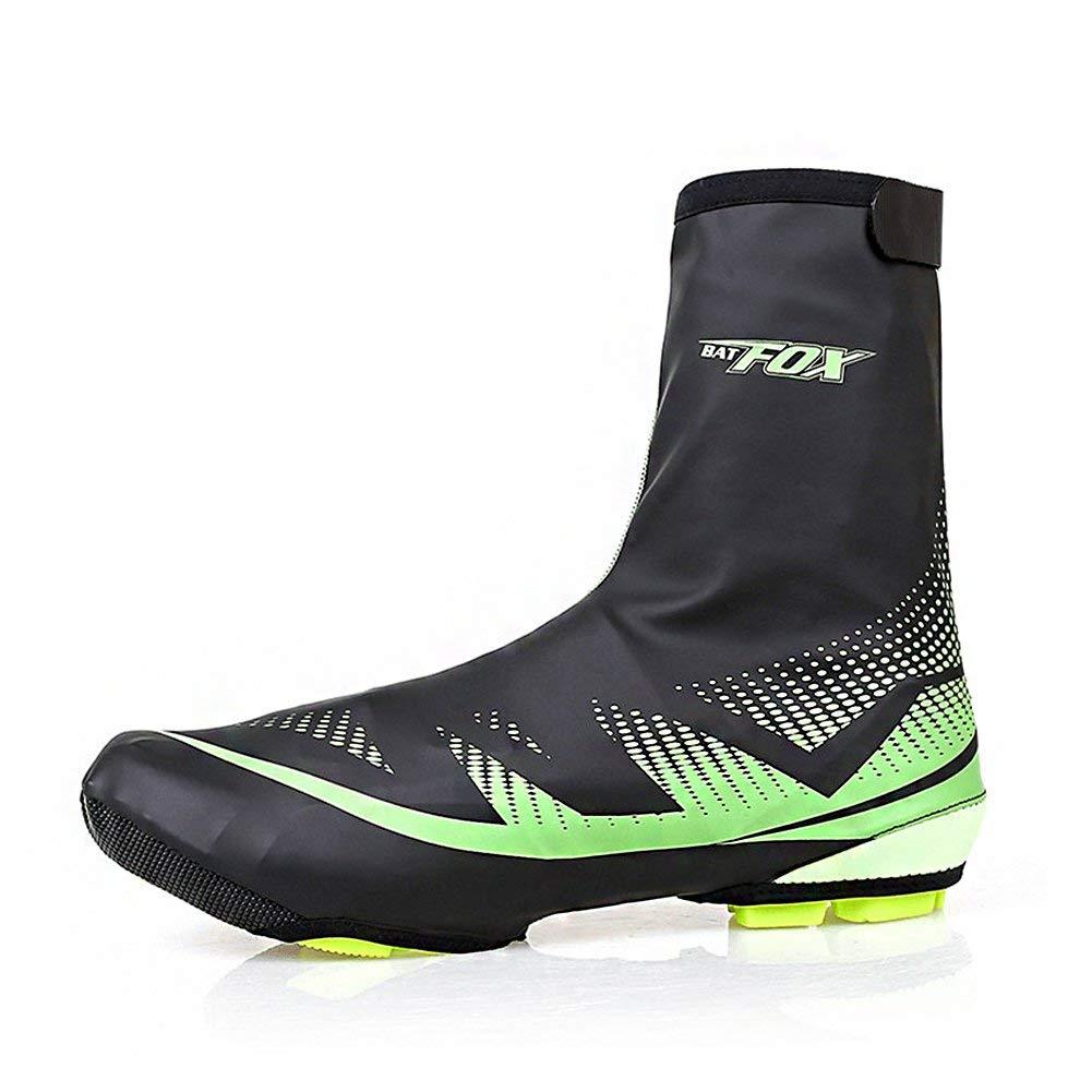 West Biking Cycling Shoe Covers Bike Booties, Neoprene Waterproof Bike Shoes Cover Bicycle Overshoes