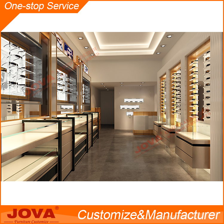 high-end optical store design from Jova China