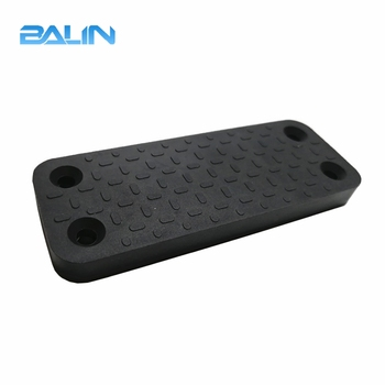 Hot selling multi-grade magnet gun holder rubber coated with 3M tape and screws for military neodymium magnet