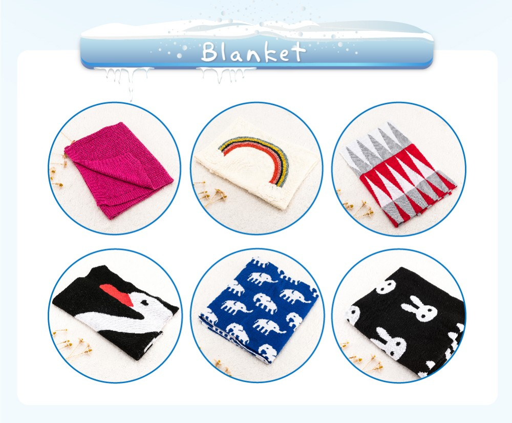 Luxury hot sales 100% organic cotton wholesale baby blankets