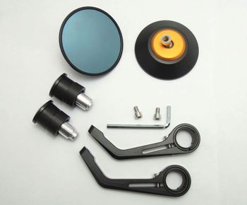 Fcbem008 Universal Cnc Aluminum Motorcycle Bar End Mirror For Zx Cbr