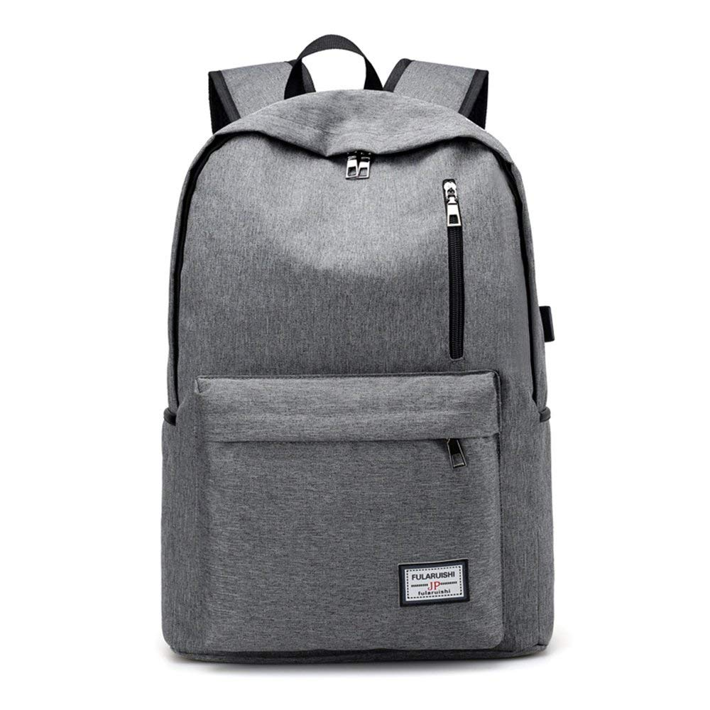 Get Quotations · Laptop Backpack 14 Inch Business Anti Theft Backpack USB  Charging Port Backpack Water Resistant Backpack Slim 4da77db5fa3b1