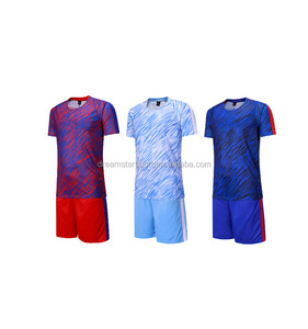Wholesale Hot Sale Fashionable Design Blue Soccer Training Jersey