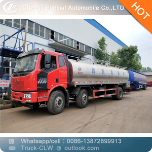 Milk tanker truck 6*2 fresh milk transportation truck for sale