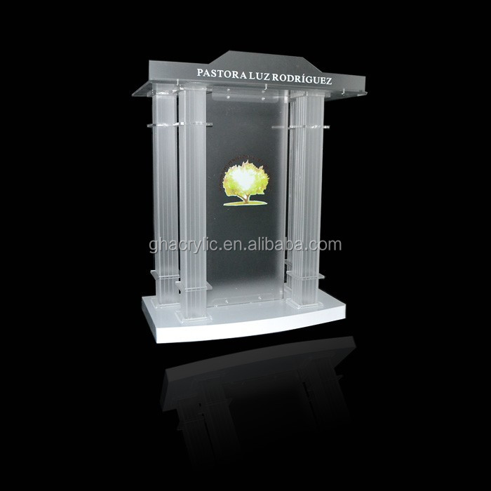 Frosted Color Acrylic Church Pulpit Design,Church Pulpit Design ...