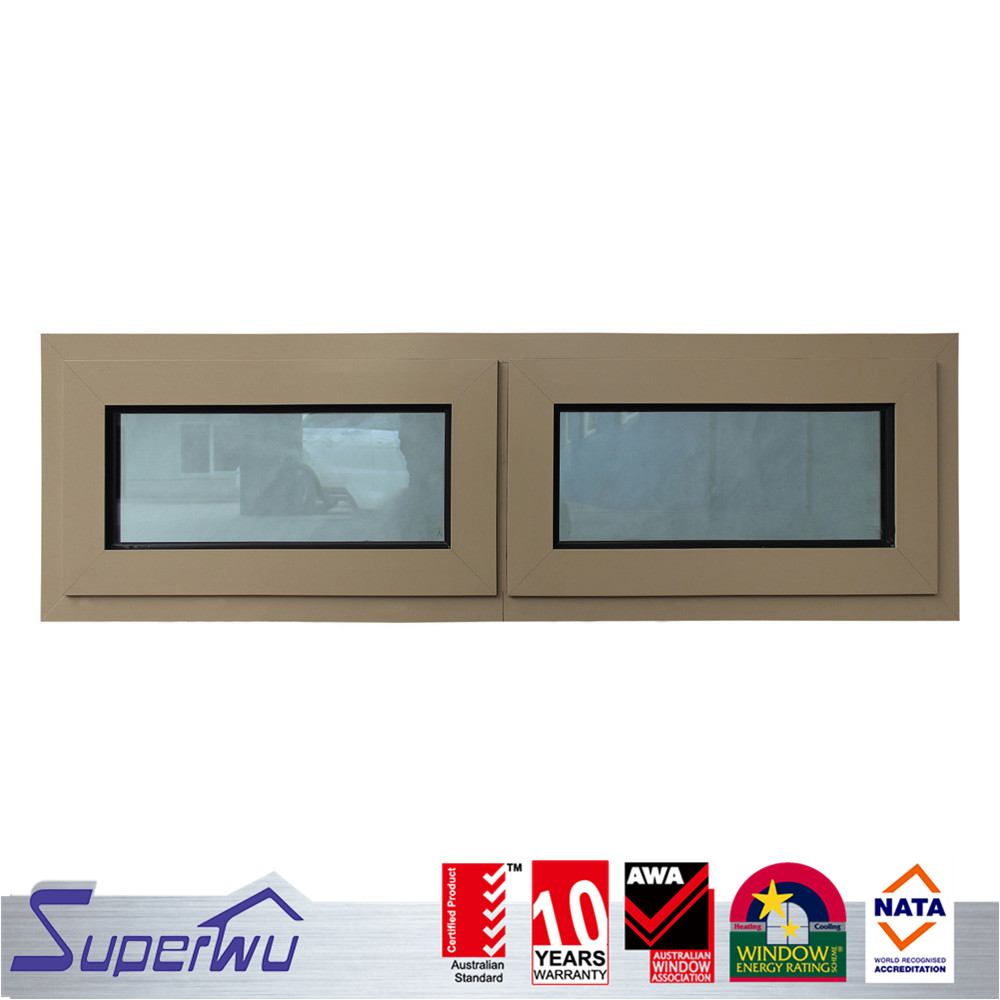 double hung triple glass aluminium used windows and doors