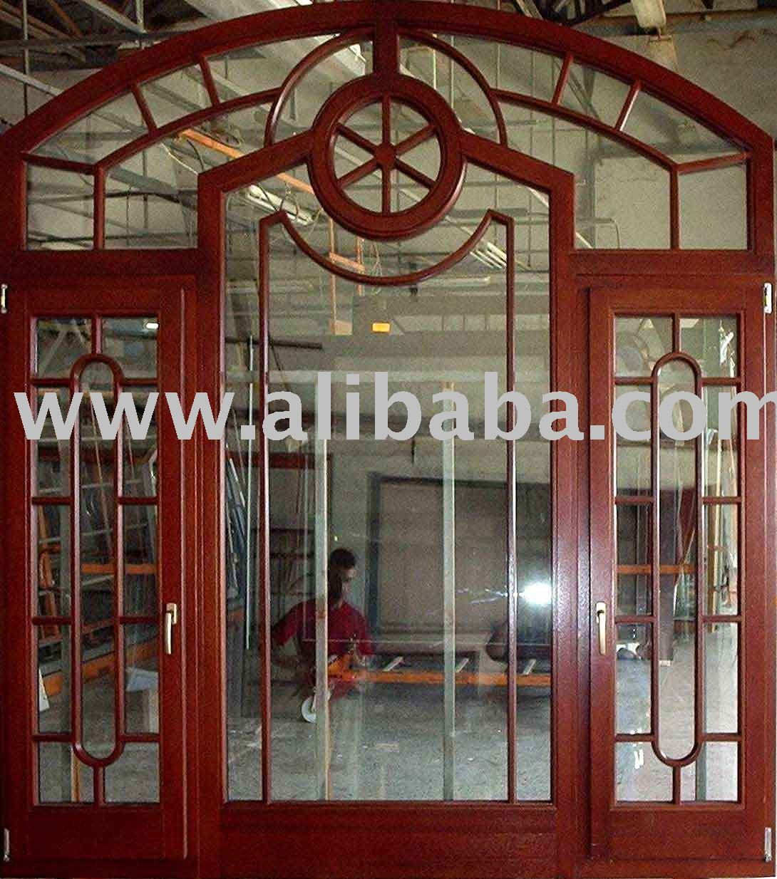 Wooden Windows And French Doors Solid Wood Product On Alibaba