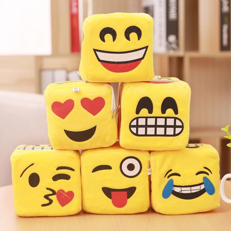 Wholesale emoji sieve game plush toy
