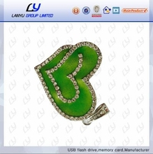 Wedding gift bulk Cheap popular creative gadgets custom logo cute heart shape branded usb flash drive