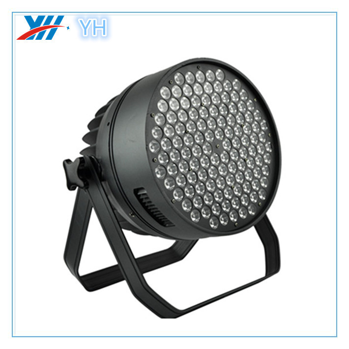 led par with 120 pcs 3w warm white or cool white led par cast aluminum light