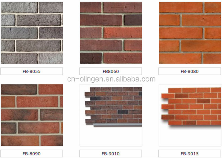 Light Weight Faux Brick Wall Panel With Xps Foam Board
