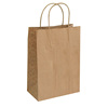 Wholesale Custom Brown kraft recycled paper bags for supermarket