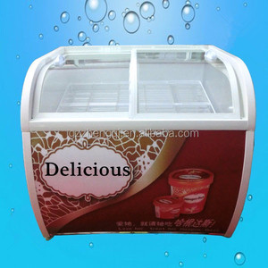Commercial Popsicle Ice Cream Display,Ice Cream Cake Display Freezer (ZQR-SM10)