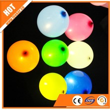 latex flash light screen printing cheapcolorful led balloon