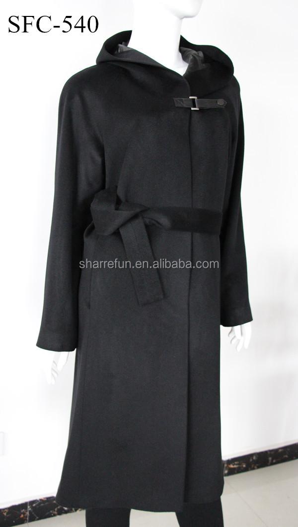 Women Long 100% Pure Cashmere Coat - Buy Women Long Cashmere Coat