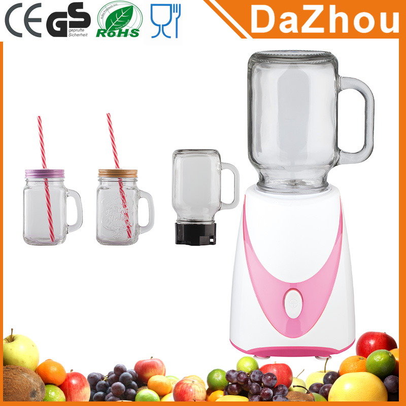 Manufacturer Excellent Quality Home Appliance 250W Electric Portable Best Blender Smoothies