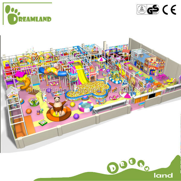 2014 top selling kids indoor play equipment family entertainment center