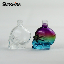 Skull glass perfume bottle manufacturer long time sex spray for men