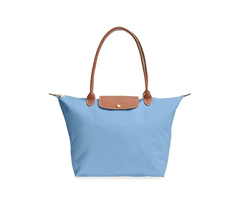 0edffb78b9 Get Quotations · Longchamp Le Pliage Nylon Medium Shoulder Tote Handbag  Purse