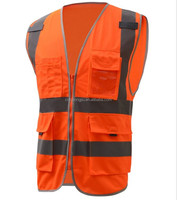 EN20471 customize reflective safety used bulletproof vest